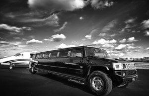 H2 Hummer Limo Service Austin Texas rental limousine black white pink wedding birthday prom