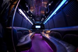 Party Bus Rental Service 40 Person Austin passenger transportation