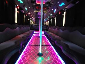 Party Bus Rental Service 45 Person Austin tours transportation texas