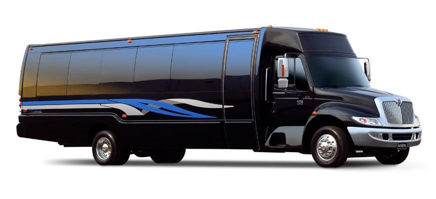 Party Bus Limo Bus Rental Services Transportation Austin luxury executive